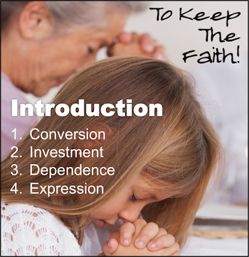 To Keep The Faith! Introduction