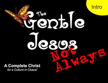 Gentle Jesus? Not Always! Introduction