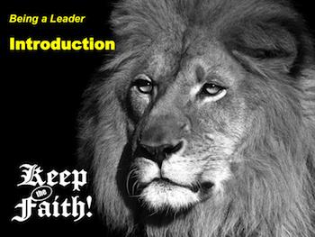 Keep the Faith! Leader 3a Introduction