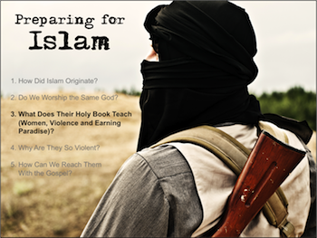 Preparing for Islam: What Does Their Holy Book Teach?