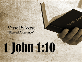 Formula for Assurance: Confession - 1 John 1:9