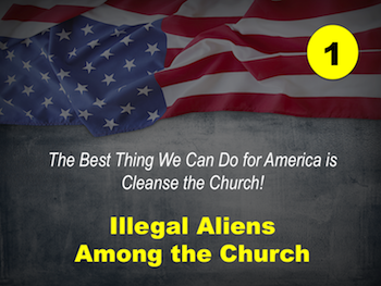 Best Thing We Can Do for America is Cleanse the Church: Illegal Aliens Among the Church