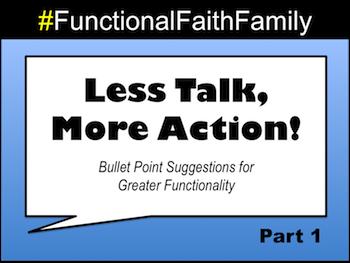 Less Talk, More Action - Part 1