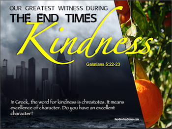 Holy Spirit: Kindness