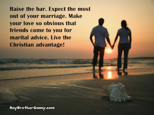 Tip: Expect Most Out of Marriage