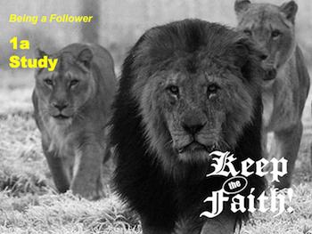 Keep the Faith! Follower 1a
