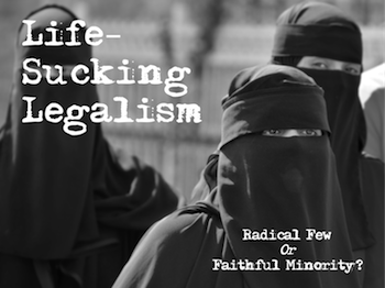 Life-Sucking Legalism