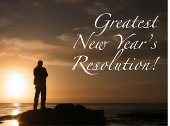 Greatest New Year's Resolution