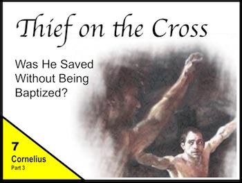 Thief on the Cross - Cornelius, Part 2
