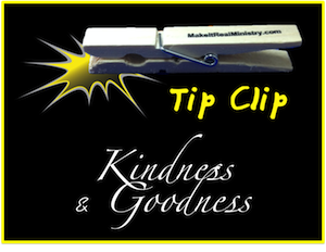 Kindness & Goodness: Characteristics of the Holy Spirit