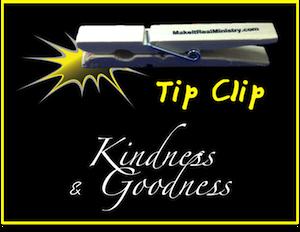Kindness & Goodness: Characteristics of the Holy Spirit